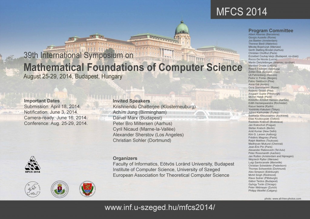 MFCS2014poster